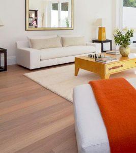 Engineered Natural Oak Wooden Flooring Installation London