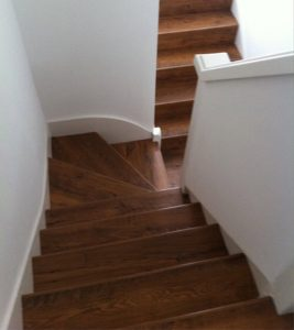Mr Goss Laminate Stairs Installation London
