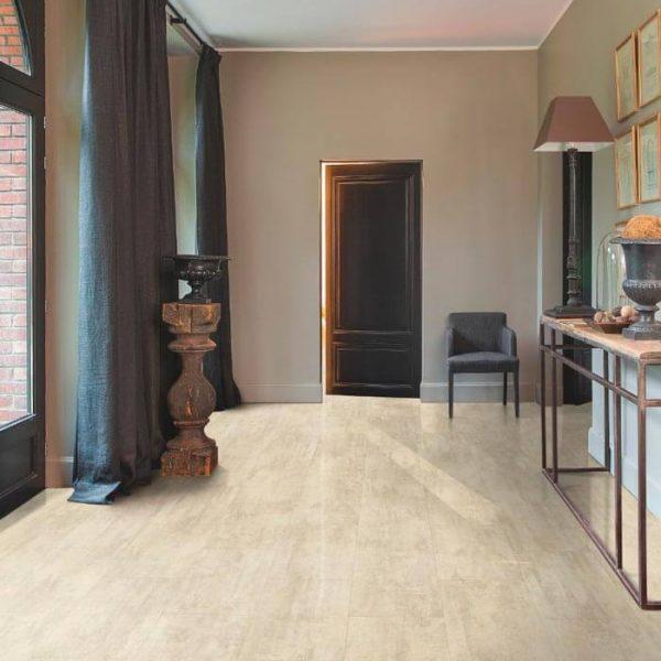Quickstep Livyn Ambient Click Plus Cream Travertin AMCP40046 - Room