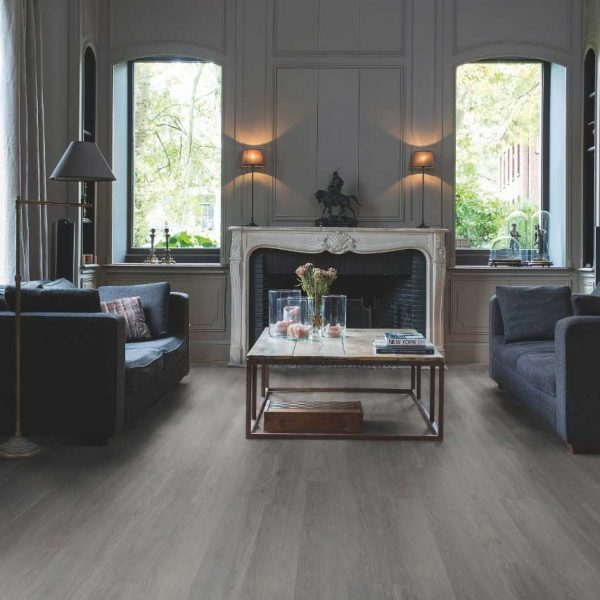 Quickstep Livyn Balance Click Plus V4 BACP40060 Silk Oak Dark Grey - Room