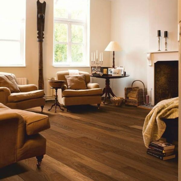 Quickstep Castello Havana Smoked Oak Matt CAS1354S - Room