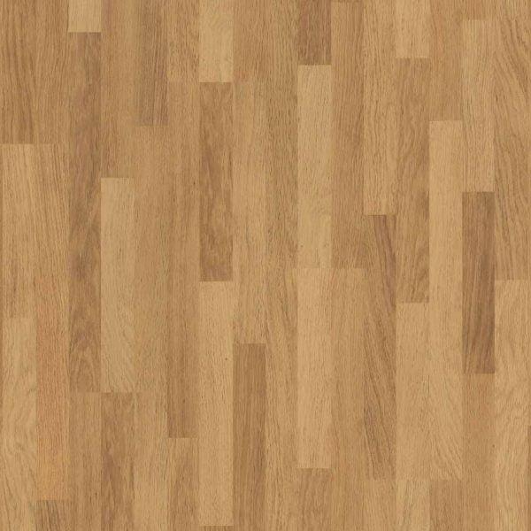 Quickstep Classic Enhanced Oak Natural Varnished 3 Strip CL998