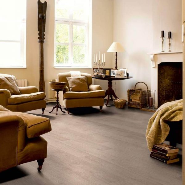 Quickstep Classic Bleached White Oak Planks CLM1291k - Room