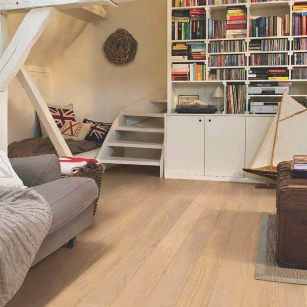 Quickstep Compact Oak Cotton White Matt COM1451 - Room