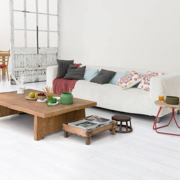 Quickstep Impressive White Planks IM1859 - Room
