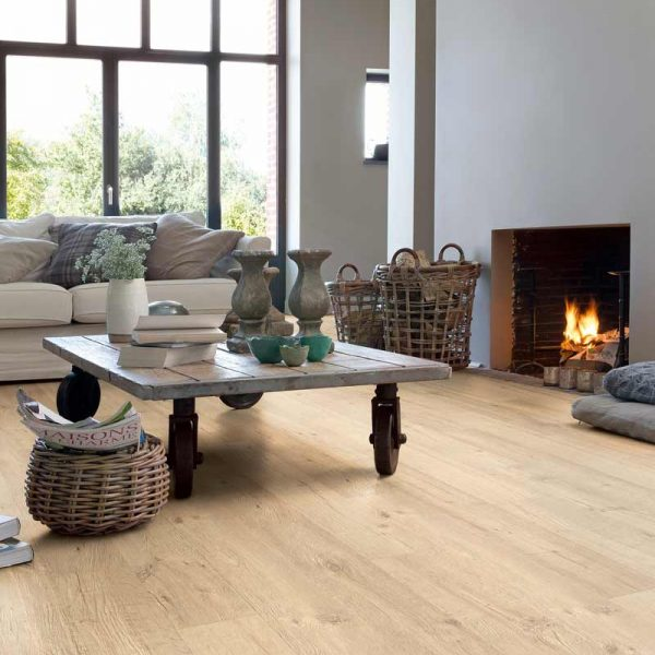 Quickstep Impressive Ultra Sandblasted Oak Natural IMU1853 - Room