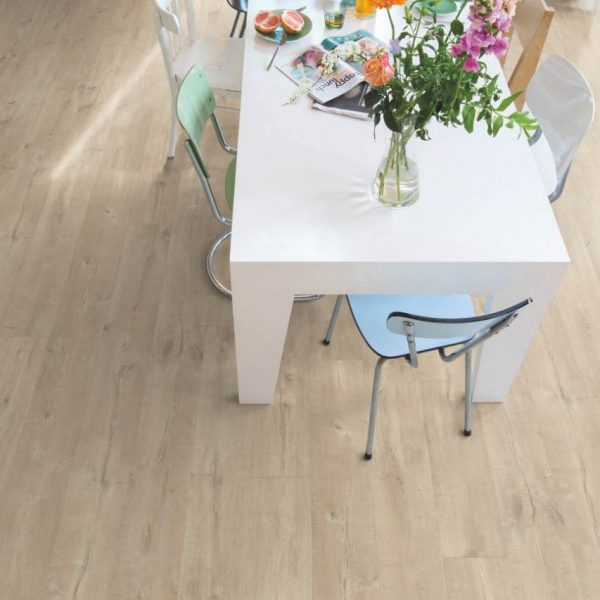 Quickstep Largo Dominicano Oak Natural Planks LPU1622 - Room