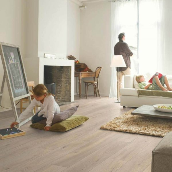Quickstep Largo Long Island Oak Natural Planks LPU1661 - Room