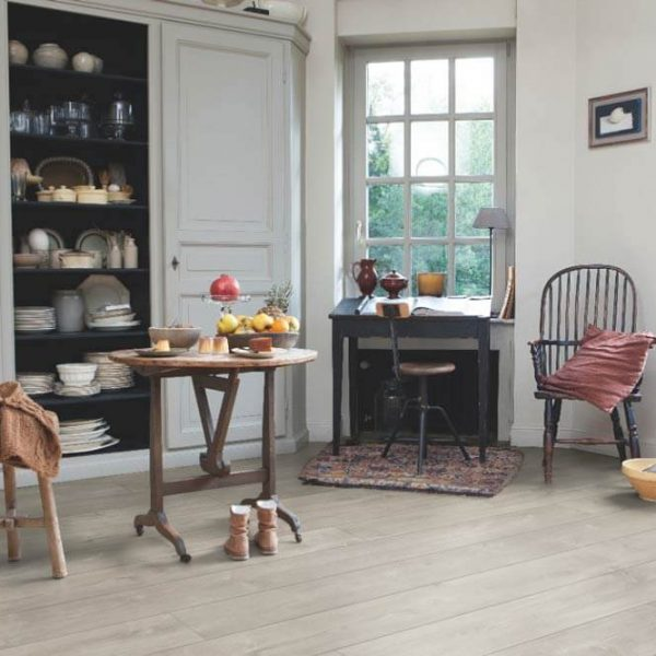 Quickstep Largo Dominicano Oak Grey Planks LPU1663 - Room