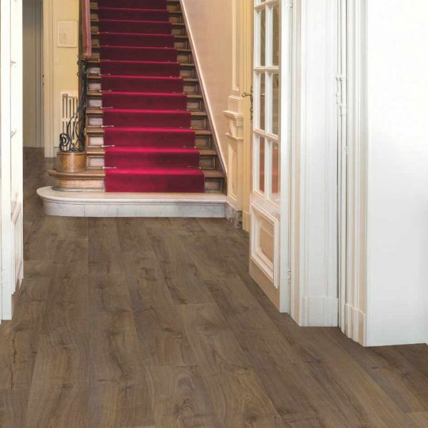 Quickstep Largo Cambridge Oak Dark Planks LPU1664 - Room