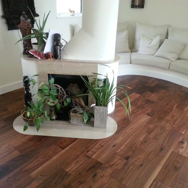 Lushwood 20 x 190 Walnut ABC Grade Lacquered - Room