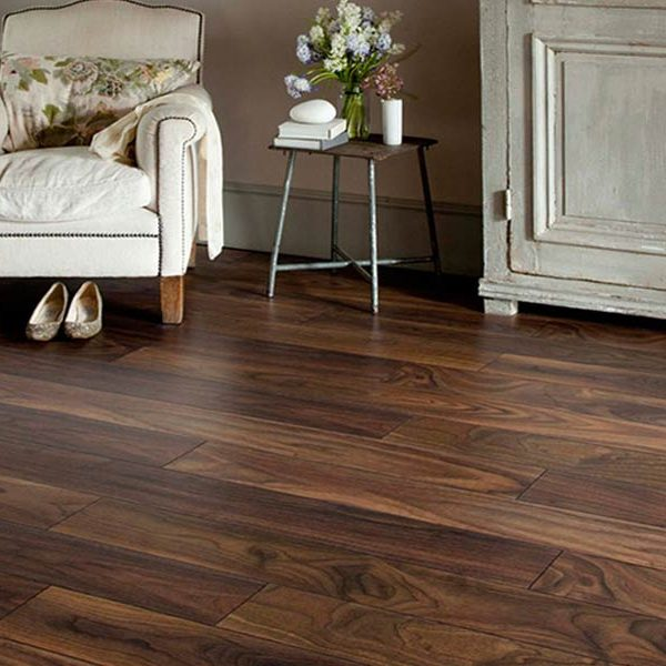 Lushwood 20 x 190 Walnut ABC Grade Oiled - Room