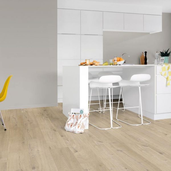 Quickstep Livyn Pulse Click Cotton Oak Beige PUCL40103 - Room
