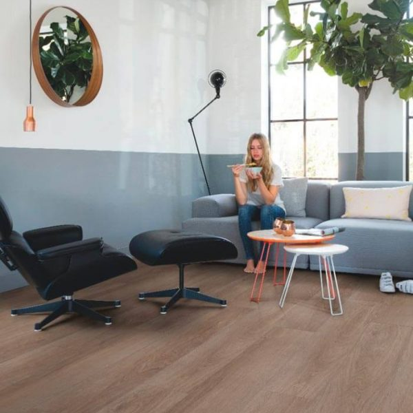Quickstep Livyn Pulse Click Plus Vineyard Oak Brown PUCP40078 - Room