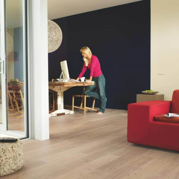 Quickstep Elite Worn Light Oak Planks UE1303 - Room