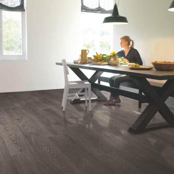 Quickstep Elite Old Oak Grey Planks UE1388 - Room