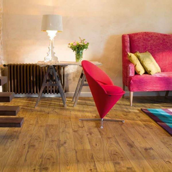 Quickstep Elite Old White Oak Natural Planks UE1493 - Room