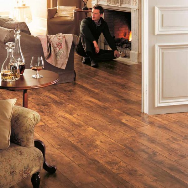Quickstep Perspective Homage Oak Natural Oiled Planks UF1157 - Room