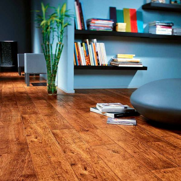 Quickstep Perspective Antique Oak Planks UF861 - Room