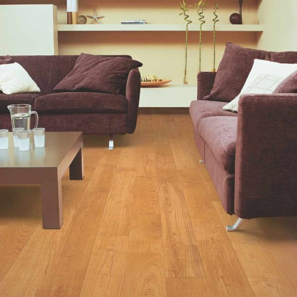 Quickstep Perspective Natural Varnished Cherry Planks UF864 - Room