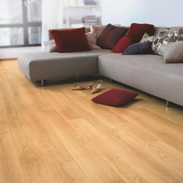 Quickstep Perspective Varnished Beech Planks UF866 - Room
