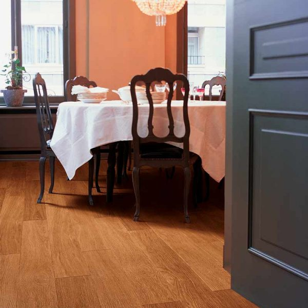Quickstep Perspective Dark Varnished Oak UF918 - Room