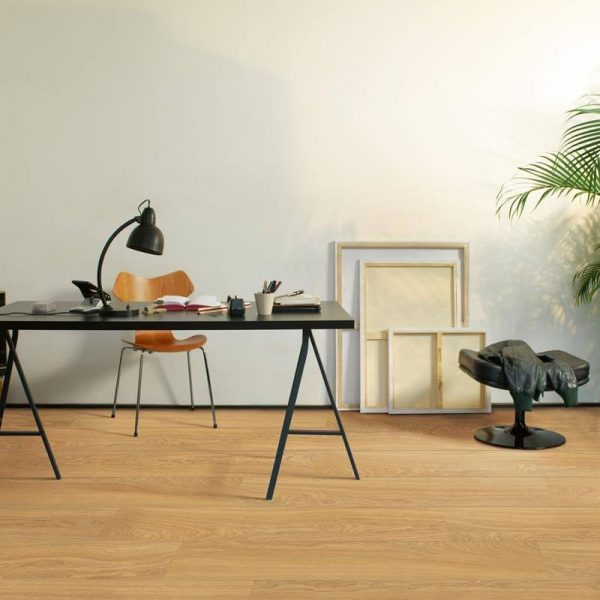 Quickstep Perspective Wide Oak Natural Oiled Planks UFW1539 - Room