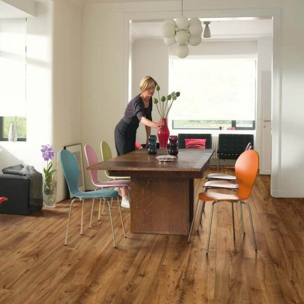 Quickstep Perspective Wide Reclaimed Chestnut Antique ULW1543 - Room