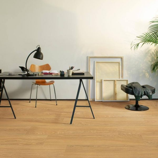 Quickstep Eligna Wide Oak Natural Oiled Planks UW1539 - Room