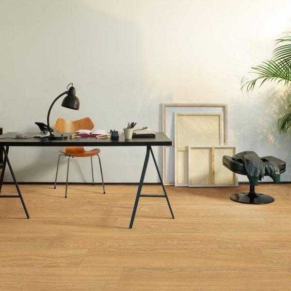 Quickstep Eligna Wide Oak Natural Oiled Planks UW1539 - Room