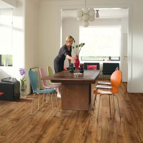 Quickstep Eligna Wide Reclaimed Chestnut Antique Planks UW1543 - Room