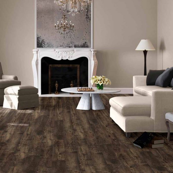 Quickstep Eligna Wide Reclaimed Chestnut Brown Planks UW1544 - Room