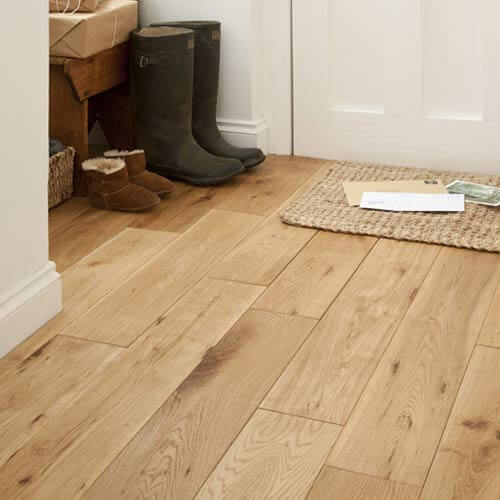 Lushwood 90mm Solid Oak Flooring CD/Rustic Grade Interior