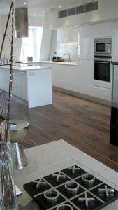 Fruition Properties Wooden Floor Installation London - Kitchen