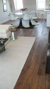 Fruition Properties Wooden Floor Installation London - Living Room