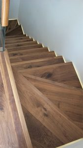 Wooden Stairs London - Top