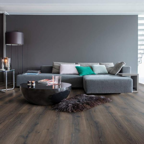 Quickstep Majestic Desert Oak Brushed Dark Brown MJ3553 - Room