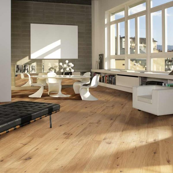 Kahrs Casa Oak Engineered Wood Flooring - Room Set