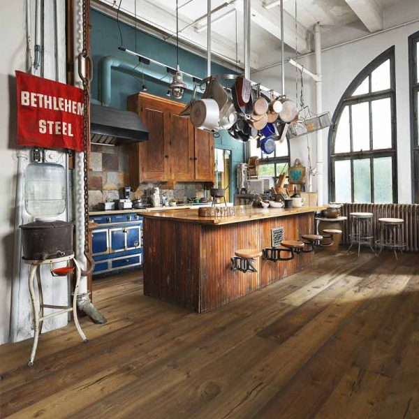 Kahrs Castillo Oak Engineered Wood Flooring - Room Set