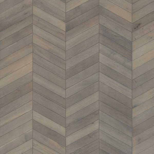 Kahrs Chevron Grey Oak Engineered Wood Flooring