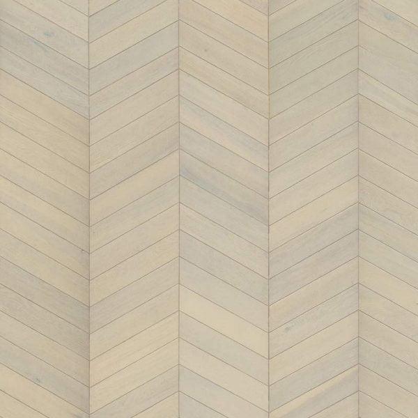 Kahrs Chevron White Oak Engineered Wood Flooring