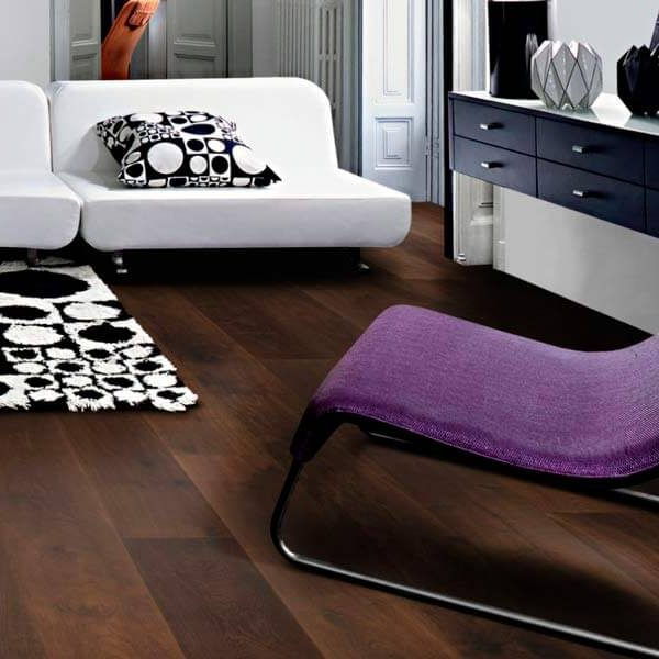 Kahrs Domani Oak Scurro Engineered Wood Flooring - Room