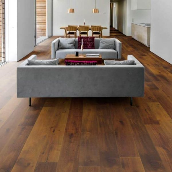 Kahrs Domani Oak Suolom Engineered Wood Flooring - Room
