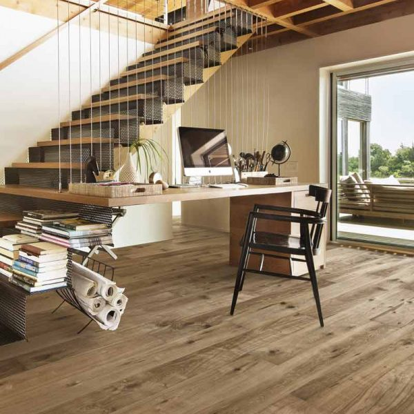 Kahrs Oak Camino Engineered Wood Flooring - Room Set