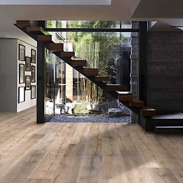 Kahrs Oak Chalet Engineered Wood Flooring - Room Set