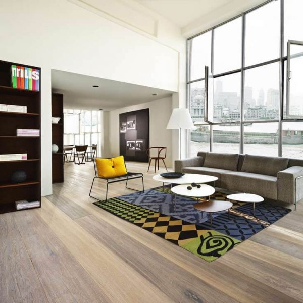 Kahrs Oak Citadelle Engineered Wood Flooring - Room Set