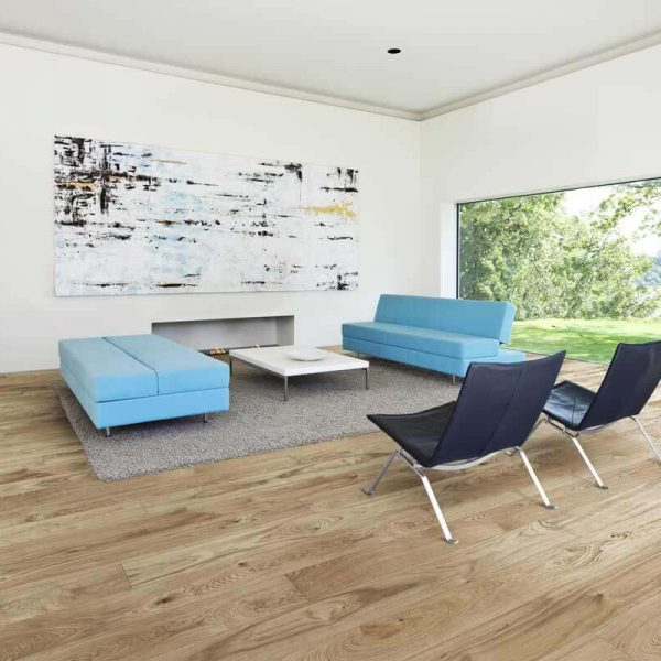 Kahrs Oak Cornwall Engineered Wood Flooring - Room Set