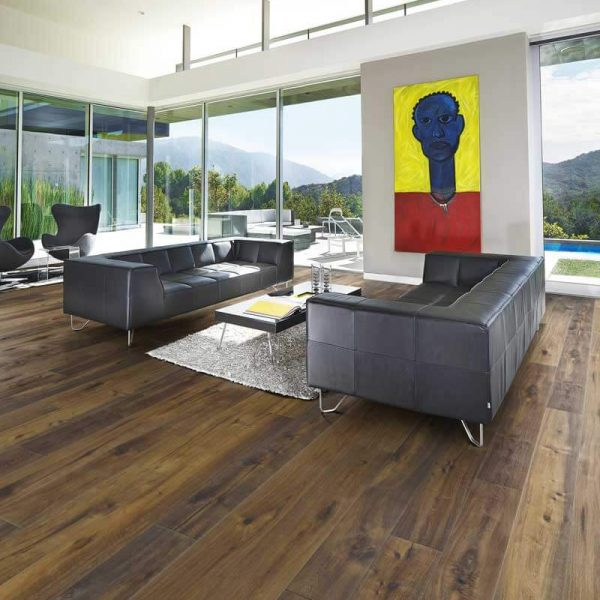 Kahrs Oak Earth Engineered Wood Flooring - Room Set
