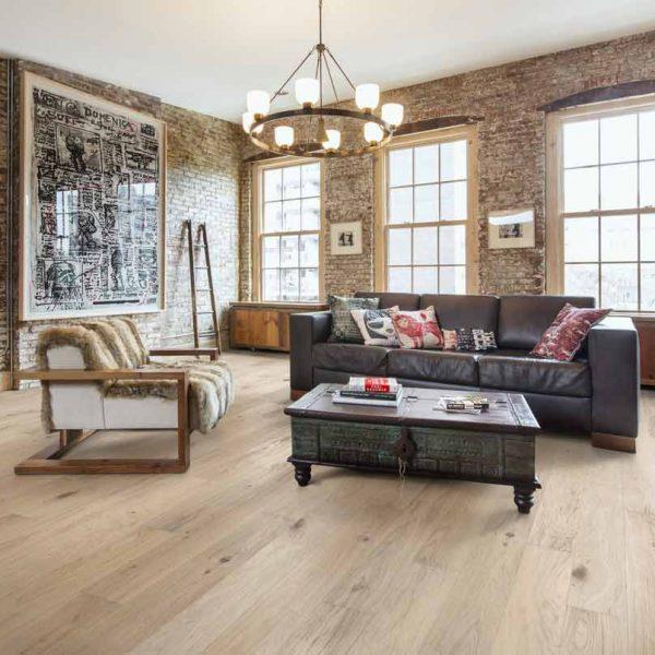 Kahrs Oak Estoril Engineered Wood Flooring - Room Set