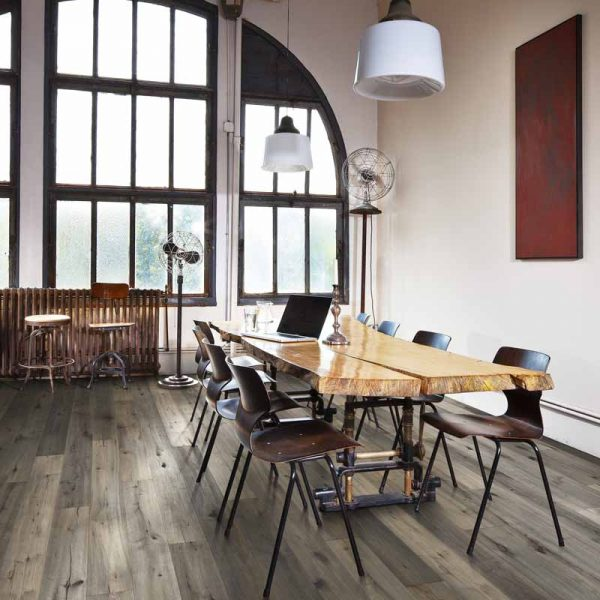 Kahrs Oak Foschia Engineered Wood Flooring - Room Set